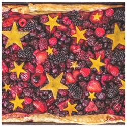 Picture of Star Spangled Slab Pie